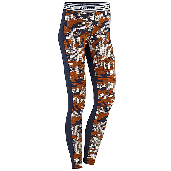 Kari Traa Kongle Womens Long Underwear Pants, Hazel, 600