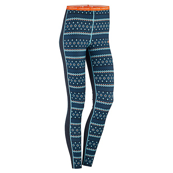 Kari Traa Lune Womens Long Underwear Pants, Marin, 600