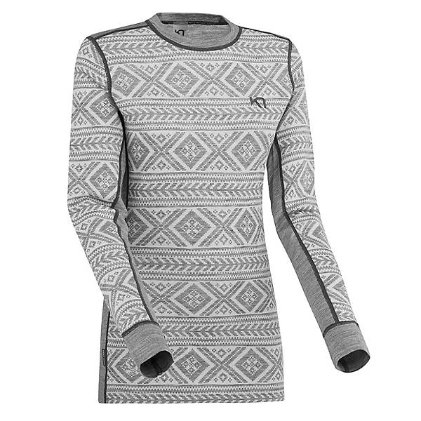 Kari Traa Floke Long Sleeve Womens Long Underwear Top, Dusty, 600