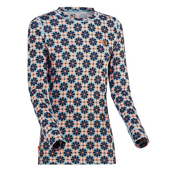 Kari Traa Fryd Womens Long Underwear Top, Frost, 600