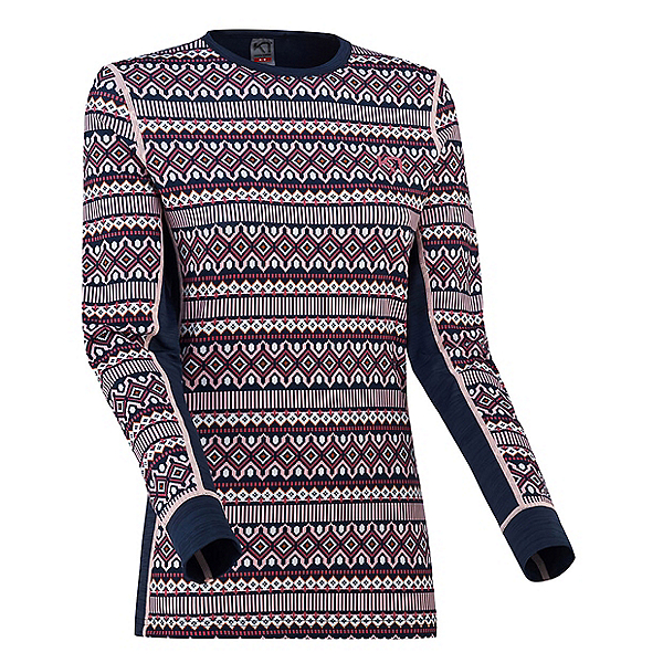 Kari Traa Lune Long Sleeve Womens Long Underwear Top, Lilac, 600