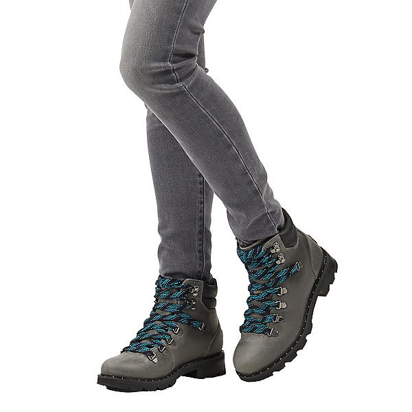 Sorel Lennox Hiker Womens Boots, Quarry, 600