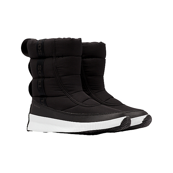 Sorel Out N About Puffy Mid Womens Boots, Black, 600
