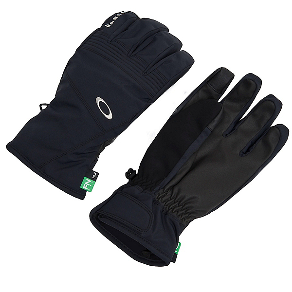 Oakley Roundhouse Short Gloves, Blackout, 600