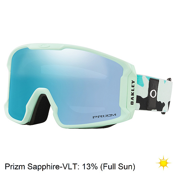 Oakley Line Miner XM Womens Goggles, Jasmine Celeste Camo-Prizm Sap, 600