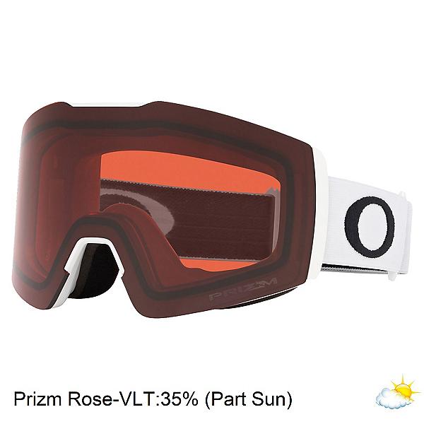 Oakley Fall Line XM Prizm Goggles, Matte White-Prizm Rose, 600