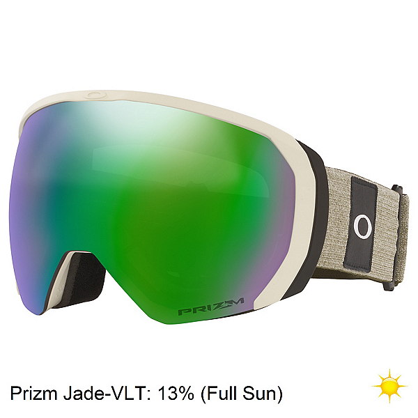 Oakley Flight Path XL Goggles, Heathered Grey Brush-Prizm Jad, 600