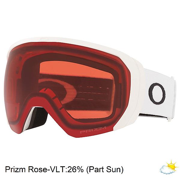 Oakley Flight Path XL Goggles, Matte White-Prizm Rose, 600