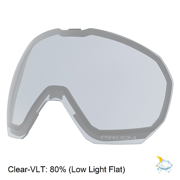 Oakley Flight Path XL Goggle Replacement Lens, Clear, 600