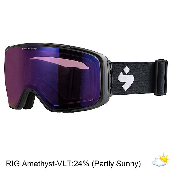 Sweet Protection Interstellar RIG Goggles, Matte Black-Rig Amethyst, 600