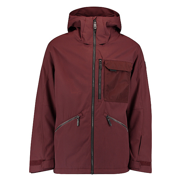 O'Neill Utility Mens Insulated Snowboard Jacket, Bitter Chocolate, 600