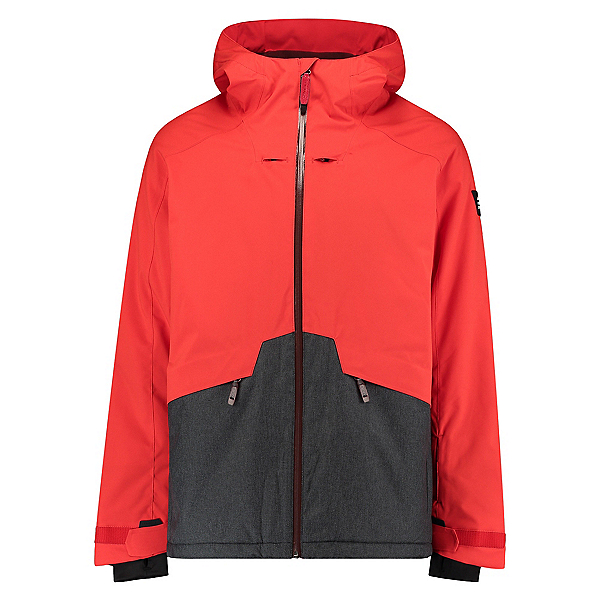 O'Neill Quartzite Mens Insulated Snowboard Jacket, Fiery Red, 600