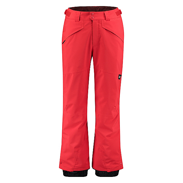 O'Neill Hammer Insulated Mens Snowboard Pants, Fiery Red, 600