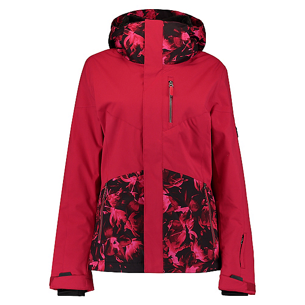 O'Neill Coral Womens Insulated Snowboard Jacket, Rio Red, 600