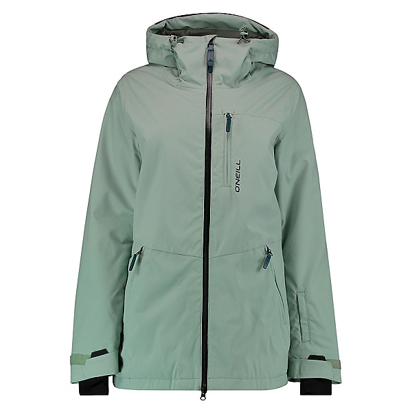 O'Neill Apo Womens Insulated Snowboard Jacket, Jadeite, 600