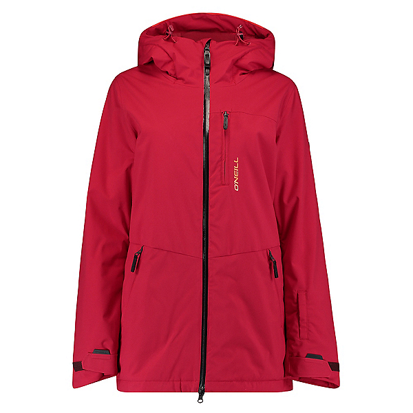 O'Neill Apo Womens Insulated Snowboard Jacket, Rio Red, 600