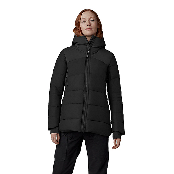 Canada Goose Hybridge Down Womens Jacket, Black, 600