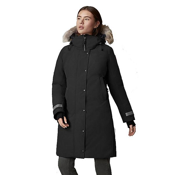 Canada Goose Sherbrooke Womens Parka, Black, 600
