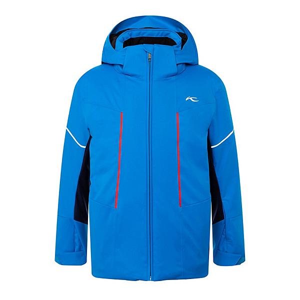 KJUS Speed Reader Boys Ski Jacket, Aruba Blue-Atlanta Blue, 600