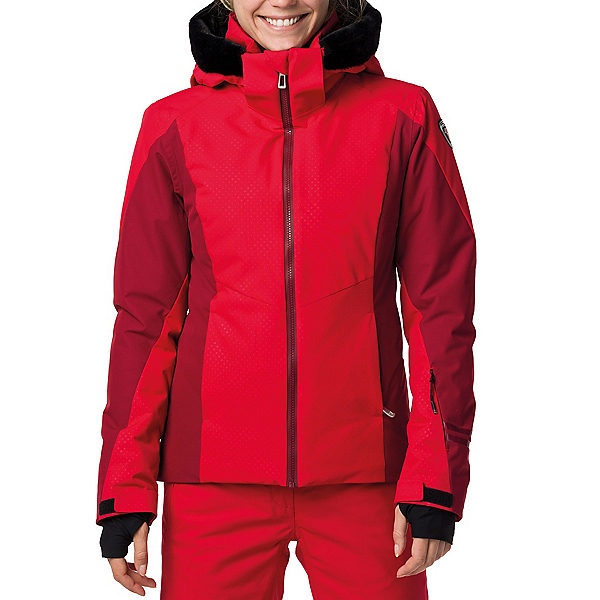 Rossignol Controle Womens Insulated Ski Jacket, Carmin, 600