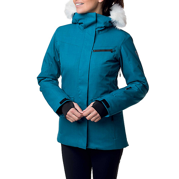 Rossignol Parka Womens Insulated Ski Jacket, Baltic, 600