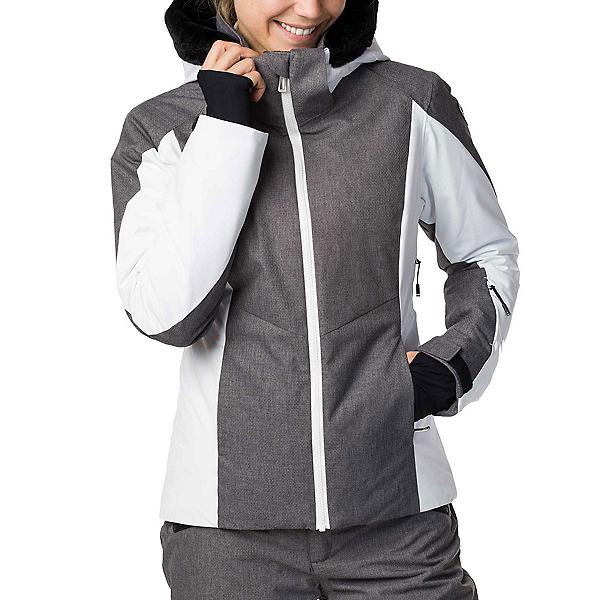 Rossignol Controle Heather Womens Insulated Ski Jacket 2020, Heather Grey, 600
