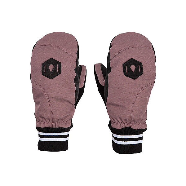 Volcom Bistro Womens Mittens, Rose Wood, 600