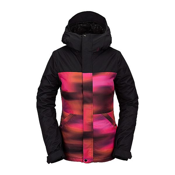 Volcom Bolt Womens Insulated Snowboard Jacket, Bright Pink, 600