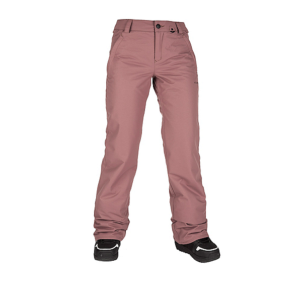 Volcom Frochickie Insulated Womens Snowboard Pants, Rose Wood, 600