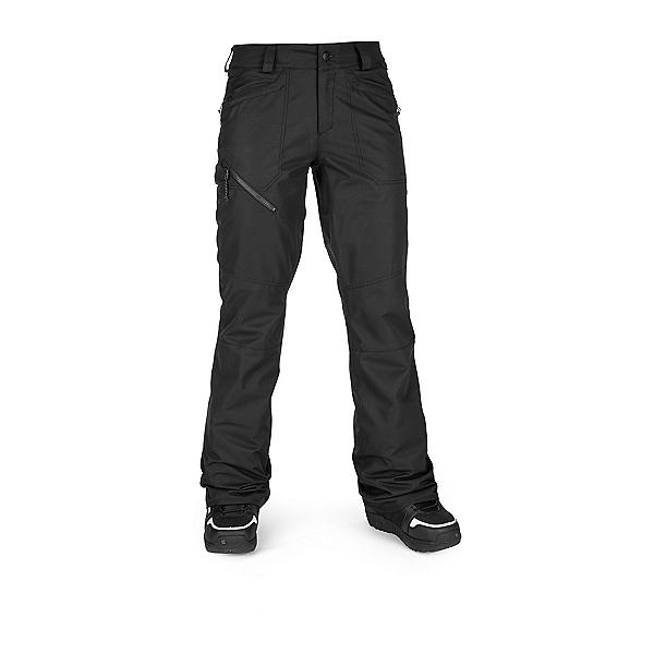 Volcom Hallen Womens Snowboard Pants, Black, 600