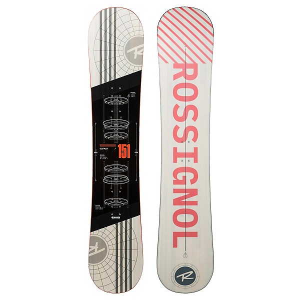 Rossignol District White Snowboard, , 600