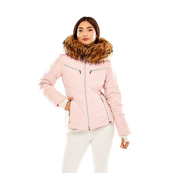 M Miller Furs Trisha Real Fur Womens Insulated Ski Jacket, , 600