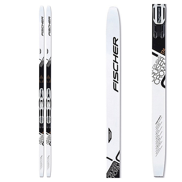 Fischer Cruiser EF Cross Country Skis with Control Step In IFP Bindings 2020, , 600
