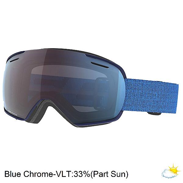 Scott Linx Goggles, Dark Blue-Skydive Blue-Enhancer Blue Chrome, 600