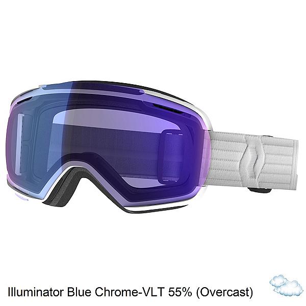 Scott Linx Goggles, White-Illuminator Blue Chrome, 600