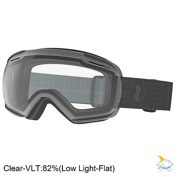 Scott Linx Goggles, Black-Clear, 600