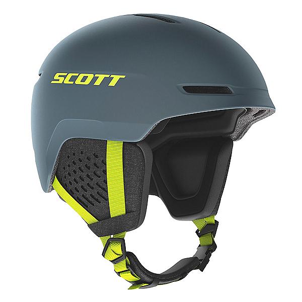 Scott Track Helmet, Storm Grey-Ultralime Yellow, 600