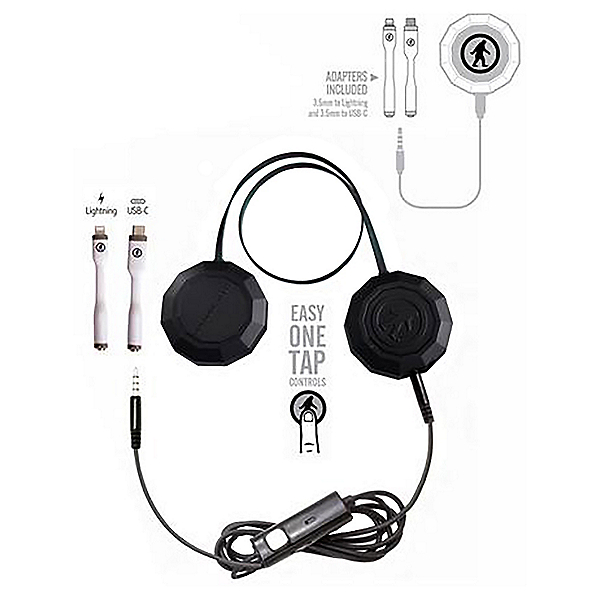 Outdoor Tech Wired Chips Adaptable Helmet Audio Kit, , 600