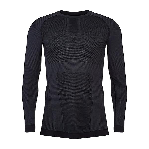 Spyder Momentum Mens Long Underwear Top, Black, 600
