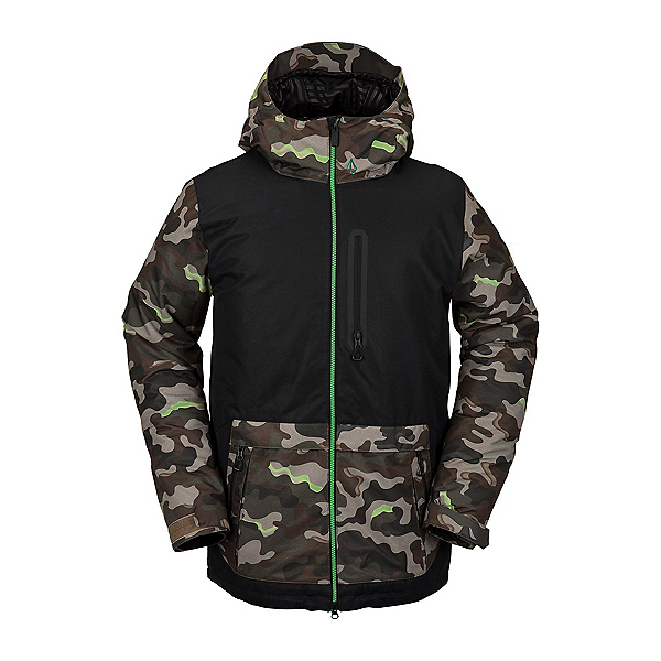 Volcom Deadly Stones Mens Insulated Snowboard Jacket, , 600