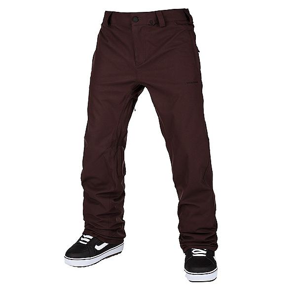 Volcom Freakin Snow Chino Mens Snowboard Pants, Black Red, 600