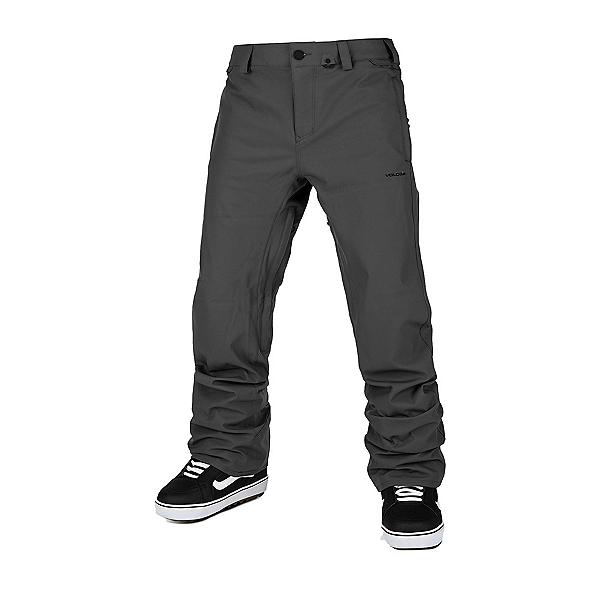 Volcom Freakin Snow Chino Mens Snowboard Pants, Dark Serious, 600