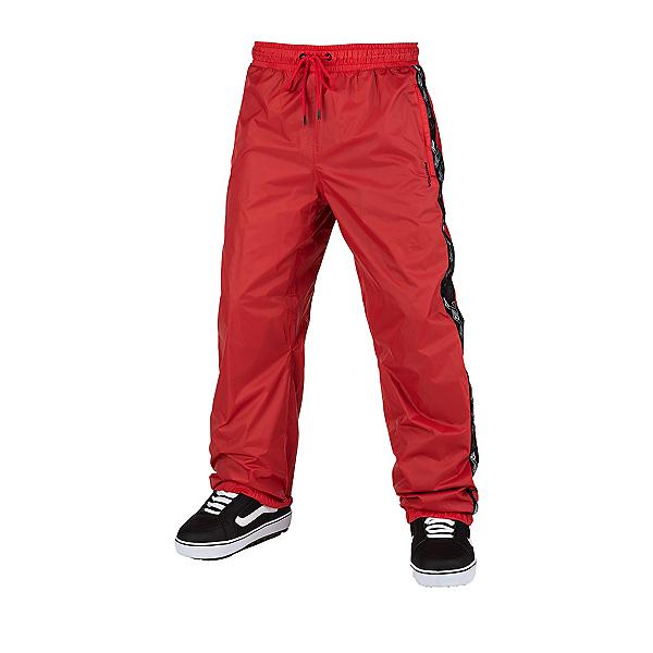 Volcom Slashlapper Mens Snowboard Pants, Red, 600