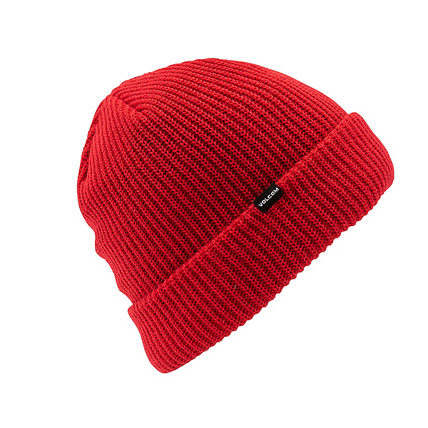 Volcom Sweep Lined Beanie, Red, 600
