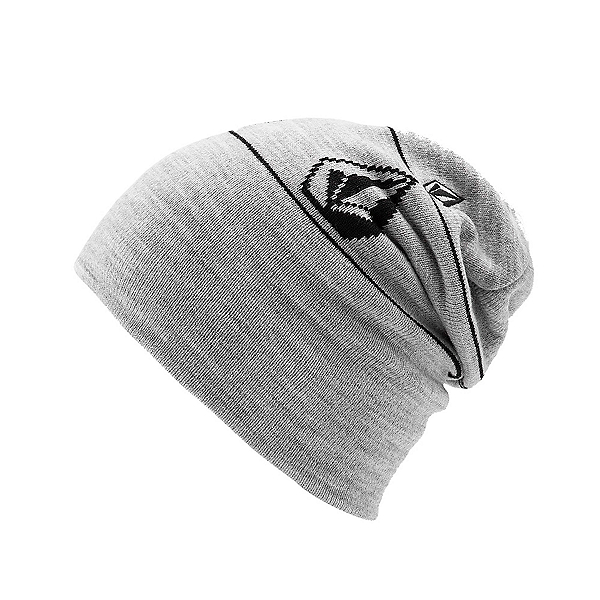 Volcom Deadly Stones Beanie, Heather Grey, 600