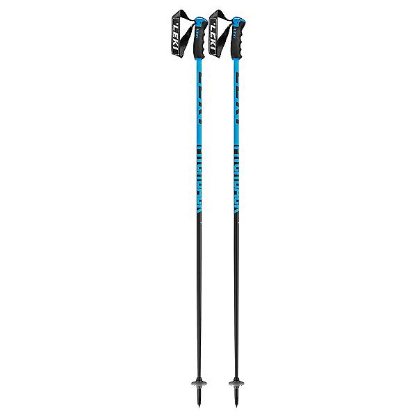 Leki Leki Pitch Back Ski Poles Ski Poles, Blue, 600
