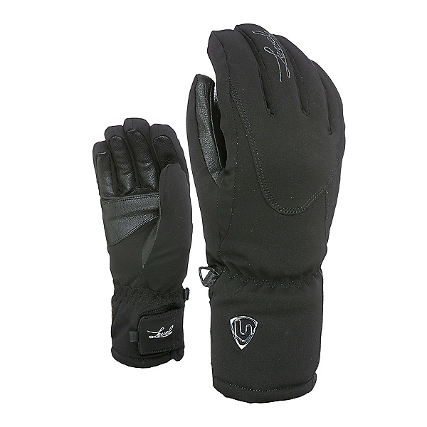 Level  Womens Gloves 2020, Black, 600