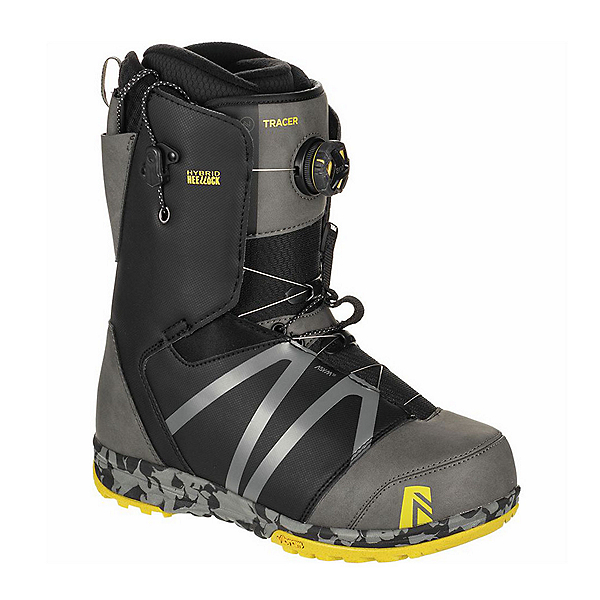 Nidecker Tracer H-Lock Coil Snowboard Boots 2020, Space Grey, 600