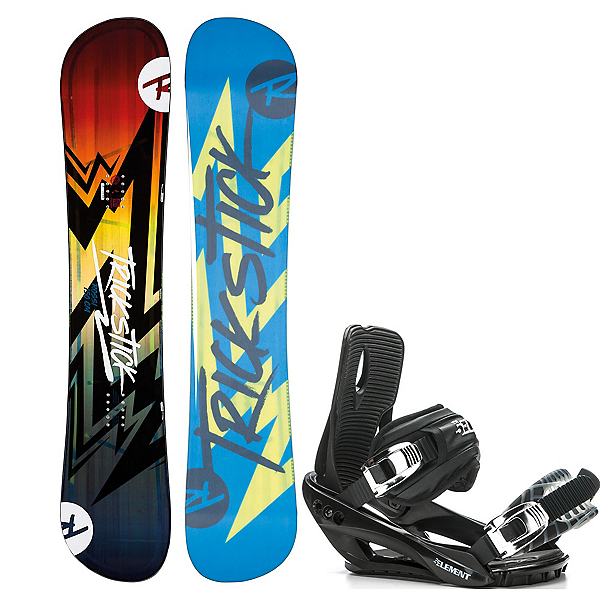 Rossignol Trickstick AF and 5th Element Stealth 3 Binding Package 2020, , 600