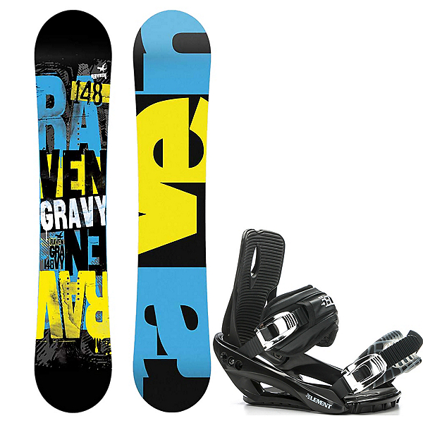 Raven Gravy and 5th Element Stealth 3 Binding Package 2016, , 600